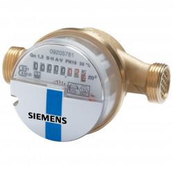 "Siemens WFK30.E130 Vízmennyiségmérő egysugaras hideg Qn 2.5 m³/h 130 mm G1"""