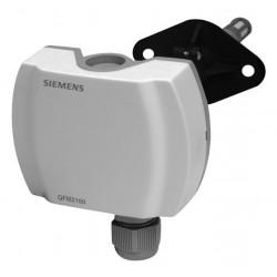Siemens QFM2171 Légcsatornába helyezhető kombinált páratartalom és hőmérséklet érzékelő 2x4…20mA